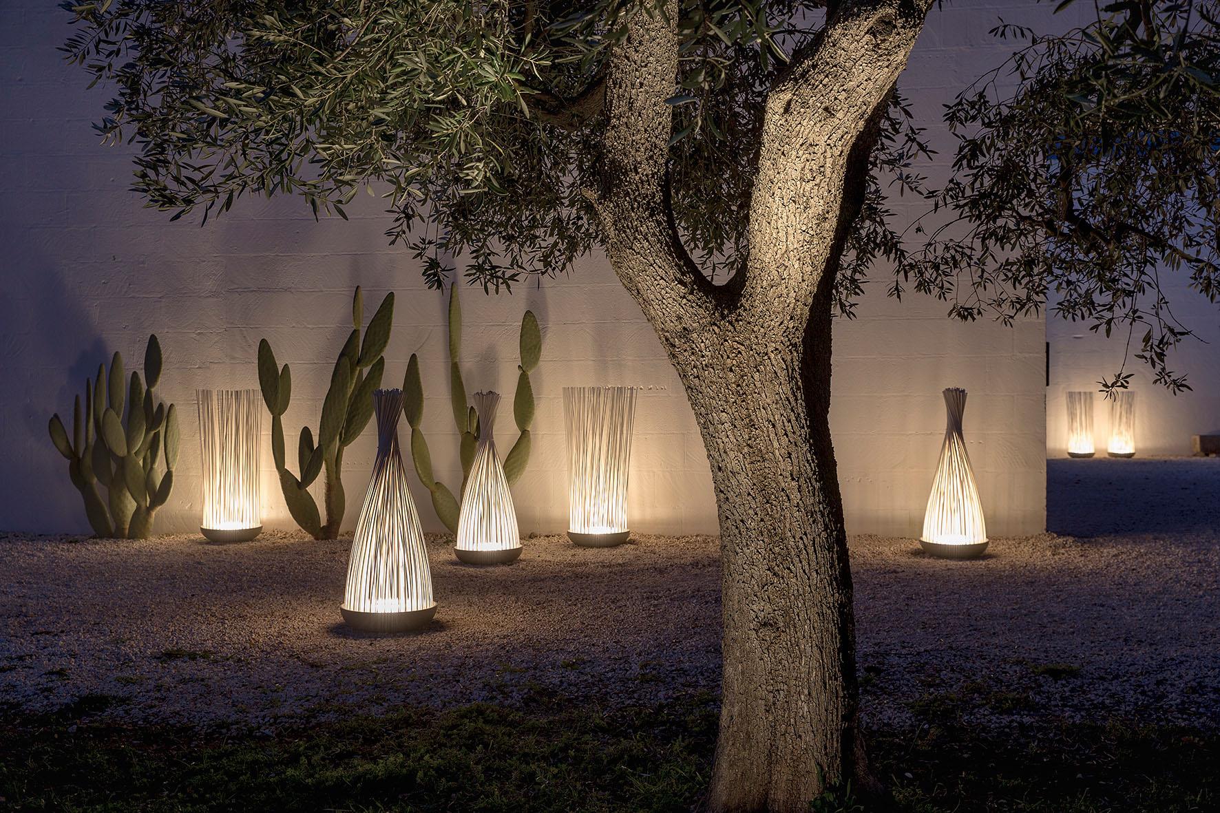 Lichtakzente im Garten
