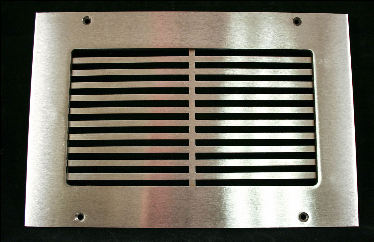HVACQuick - SteelCrest Pro-Linear Custom Metal Grilles and Registers