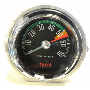 1960 Early Corvette Tachometer 5300 redline