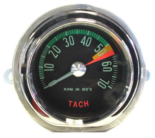 1960-1961 Corvette Tachometer Low Redline