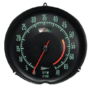 1968-1971 Corvette low RPM Tachometer