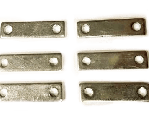 1953-1960 corvette grille tooth bracket