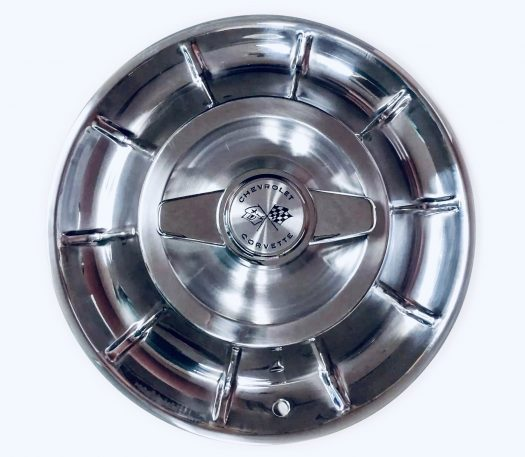 1956-1958 Corvette hubcaps with spinners
