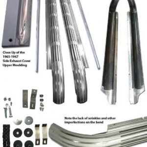Corvette Side Exhaust cover kit