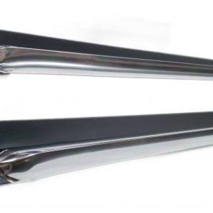 Corvette side pipe mouldings