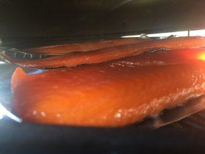 Salmone Affumicato Affumicazione2