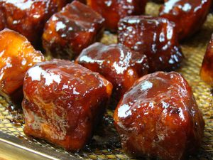 Glassa Pork Burn Ends