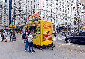 Hot Dog Vendor Relish