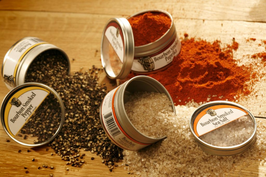Bourbon smoked sea salt, pepper and paprika will start your 2013 off on a tasty note!