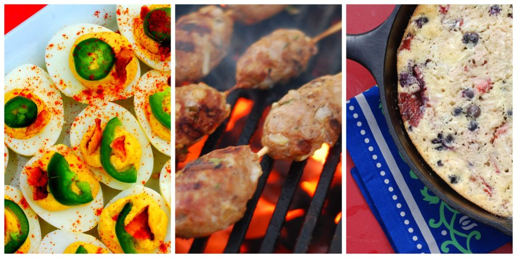 These recipes will make you the star of your cookout this year! Happy Fourth of July everyone!