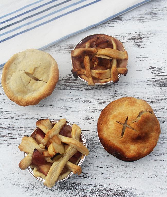 Grilled Mini Apple Pies | Photo + Recipe by Michelle Lara