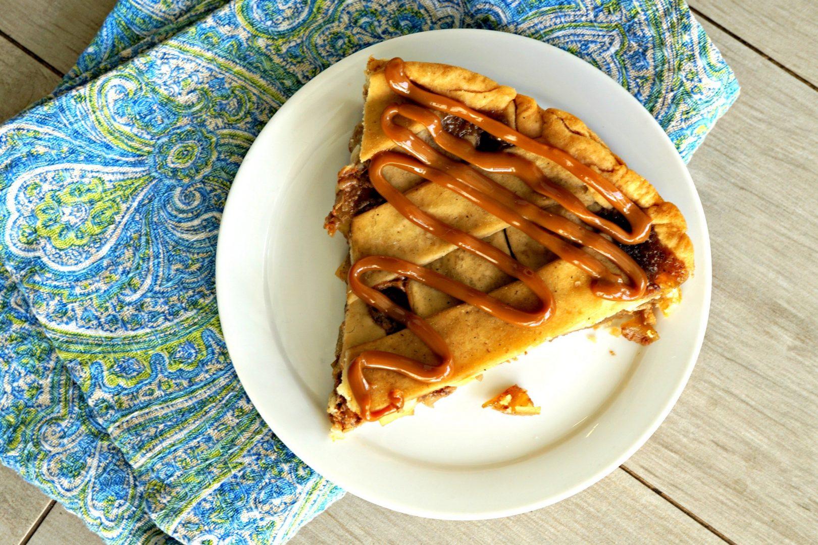 salted caramel bourbon apple pie green mountain grill pellet smoker