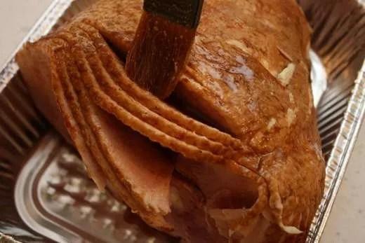Grill Glazed Spiral Ham - 07