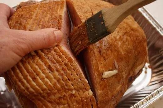 Grill Glazed Spiral Ham - 08