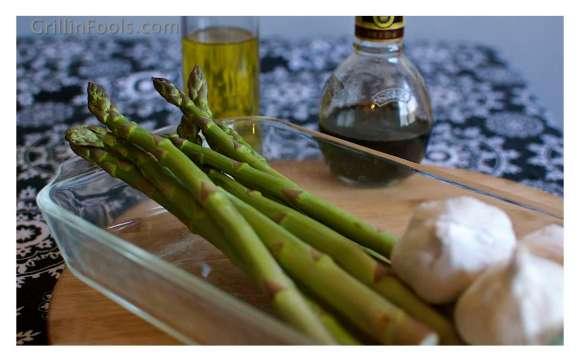 Balsamic Grilled Asparagus 1