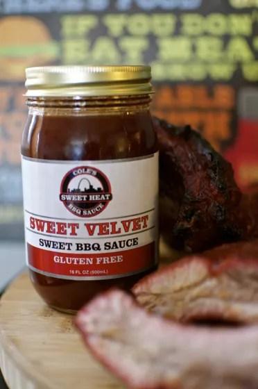 Cole's Sweet Velvet BBQ Sauce - 182