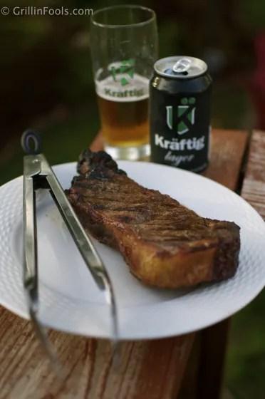 Cedar Plank Steak