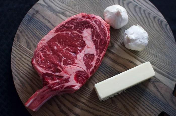 Butter Basted Cowboy Rib Eye Steak - 2 of 18