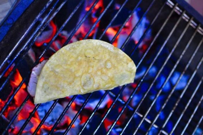 Chipotle Pork Tacos with Lime Sour Cream - 15
