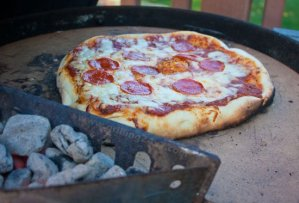 How to use a Pizza Stone on a Charcoal Grill