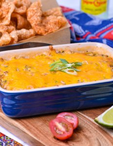 Southwest Smoked Pork Dip