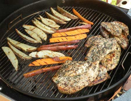 Juicy Grilled Chicken Recipe and method on the charcoal grill