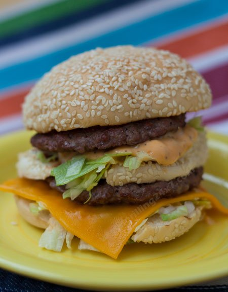 homemade bigmac