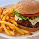 Grilled Chipotle Turkey Burgers