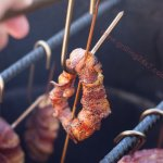 Pit Barrel Cooker Review – Bacon Wrapped Onion Rings and Tri-tip on the Pit Barrel Cooker
