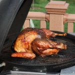 Grilling a Thanksgiving Turkey
