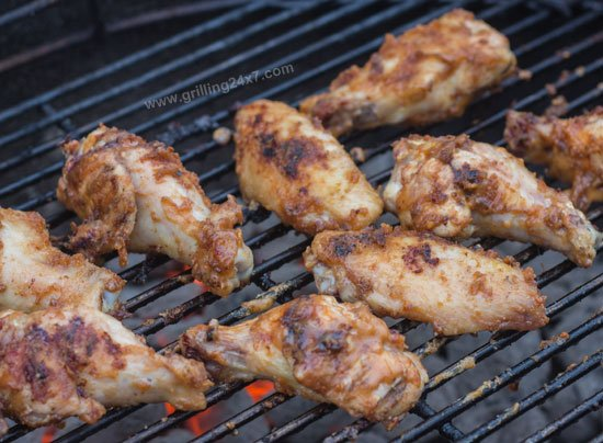 Peanut Butter and Jelly Wings - Grilled Wing Recipe