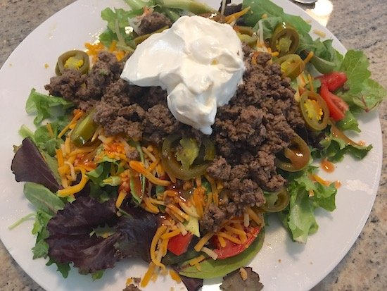 Kept Food Taco Salad