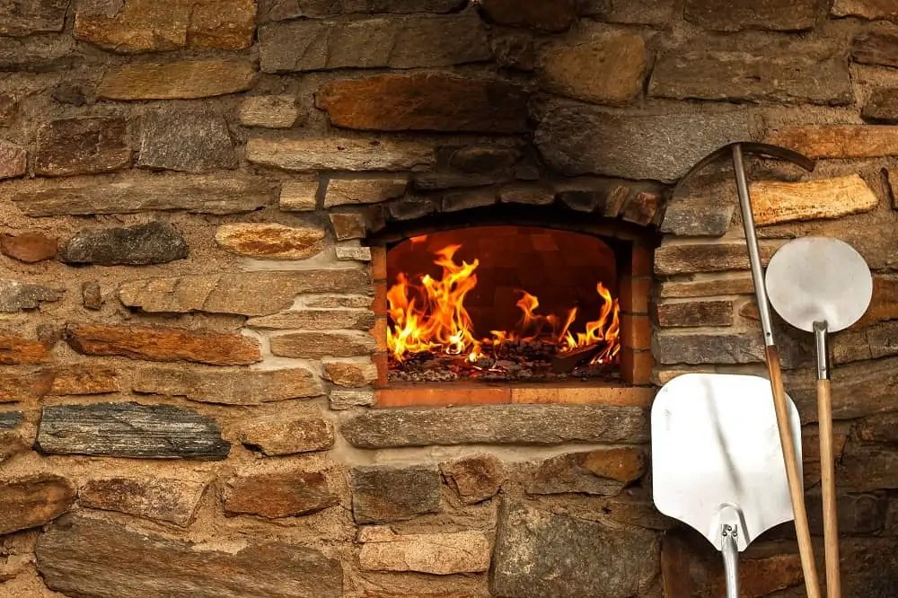 how to clean a gas pizza oven