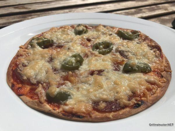 Tortilla Pizza Die Schnelle Pizza Vom Grill Rezept
