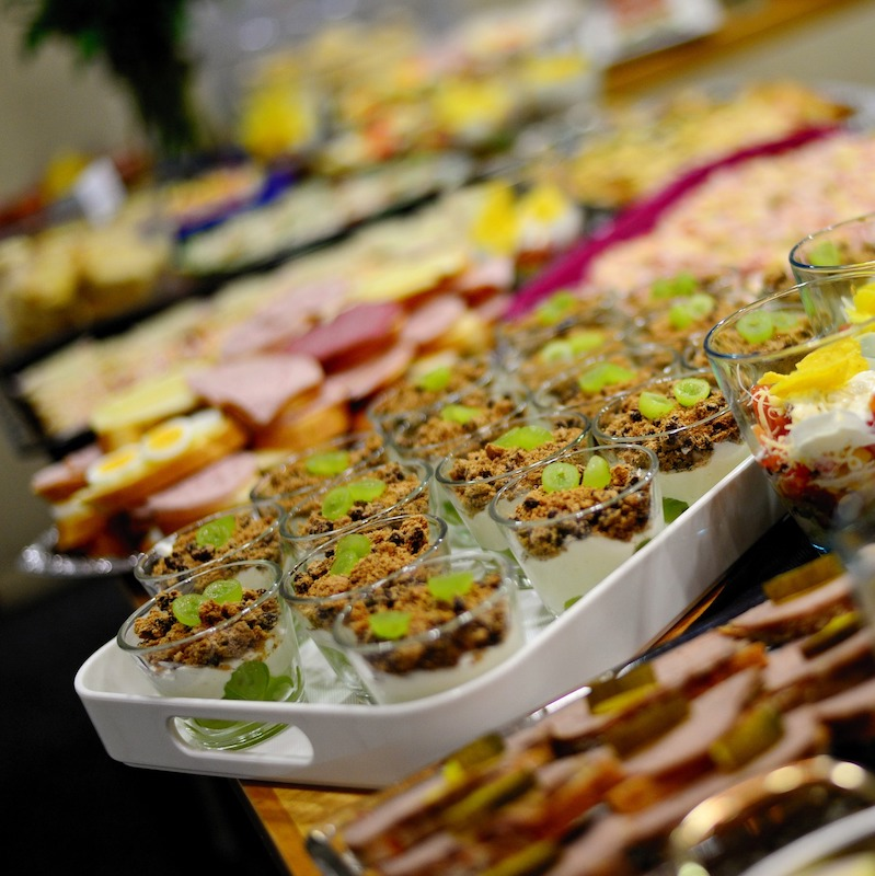 BBQ Catering buffet diverse