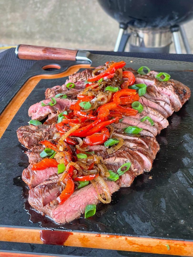 finished steak