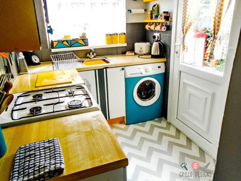 Kitchen Reveal Funky & Retro • Grillo Designs