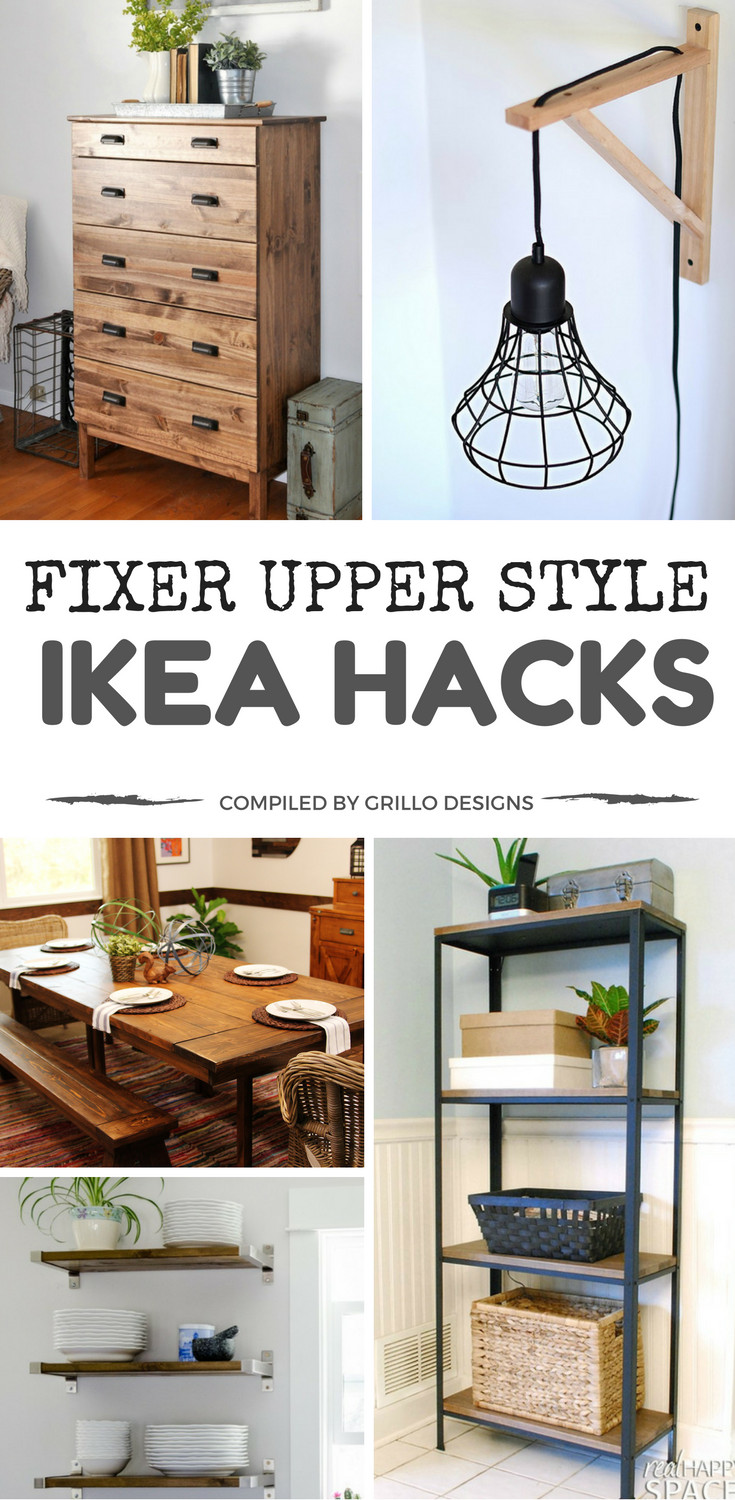 ikea kitchen table with drawers towel hooks decorative 15 hacks to add fixer upper style your home
