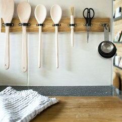 Kitchen Utensils Holder Wall Mounted Cabinets Make A Diy Utensil Hanging Rack In 10 Mins Grillo Designs Industrial Style Www Com