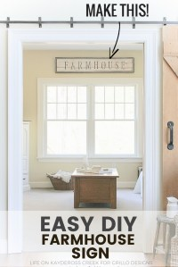 How To Make A Rustic DIY Farmhouse Sign With Stencils ...
