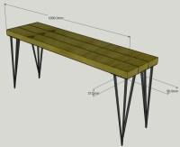 Build a Bench - the super EASY WAY!  Grillo Designs