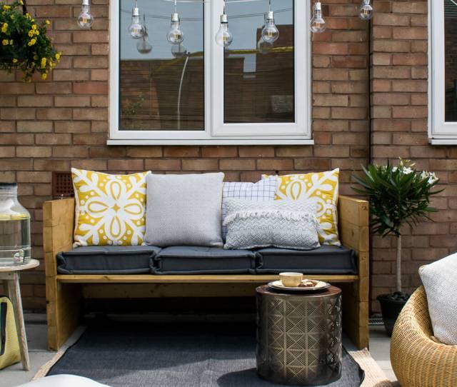 Stylish Outdoor Sofa Seat In The Garden Grillo Designs