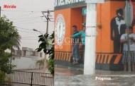 """Cumple el """"norte"""": Desde anoche llueve en varias partes de Yucatán"""