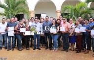 Directores de la Comuna de Oxkutzcab concluyen su capacitación