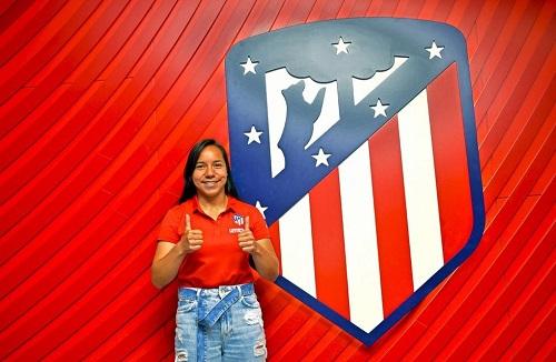 La mexicana Charlyn Corral es la nueva jugadora del Atlético de Madrid