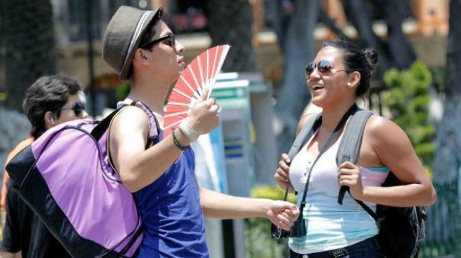 Martes muy caluroso, con hasta 39º C, y chubascos varias partes de Yucatán