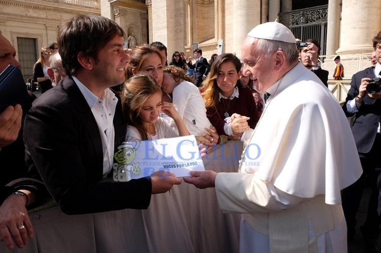 Soy un instrumento de fe, de valores y de la paz, afirma Odino Faccia