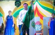 El alcalde de Umán encabeza el tradicional grito de Independencia