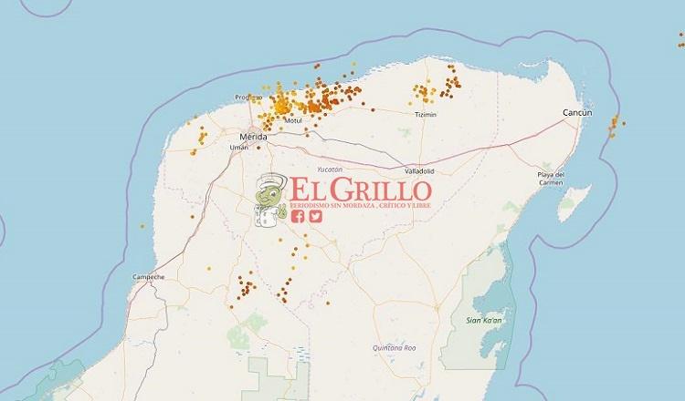 Hubo un fuerte aguacero y tormentas eléctricas en Mérida y varias partes de Yucatán