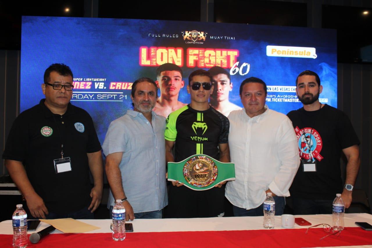 """El yucateco Josué """"Tuzo"""" Cruz peleará el 21 de septiembre en Las Vegas en el """"Lion Figth"""""""